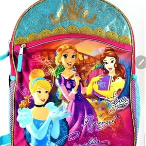 "Other - Disney Princess 16"" backpack"